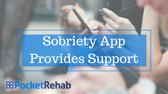 Seeking Support through a Sobriety App