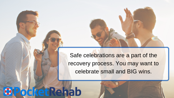 Safely Celebrating Milestones in Recovery