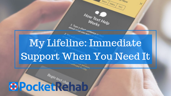 My Lifeline: Benefits of Seeking Online Support in Recovery